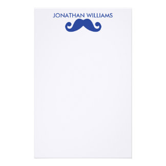 Mustache Stationery