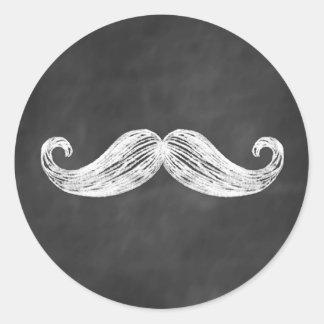 Mustache Sticker