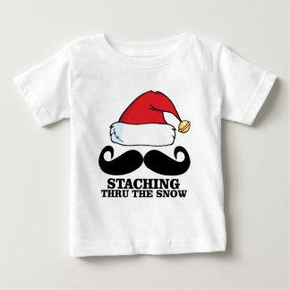 Mustache T-shirt - Staching thru the snow M.png