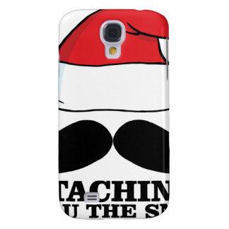 Mustache T-shirt - Staching thru the snow M.png Galaxy S4 Case