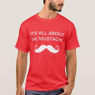 Mustache Tee Shirt