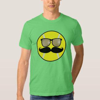 Mustache Tennis Ball T-Shirt