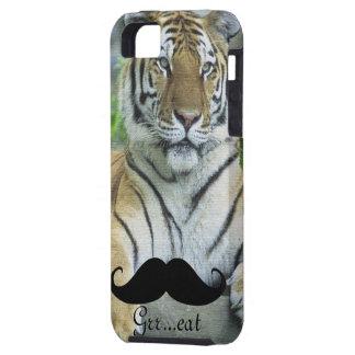 Mustache & Tiger iPhone SE/5/5s Case