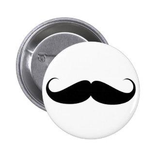 mustache vintage symbol illustration pin