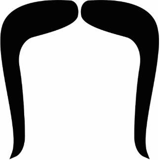 Mustache Wedding Prop Cutout