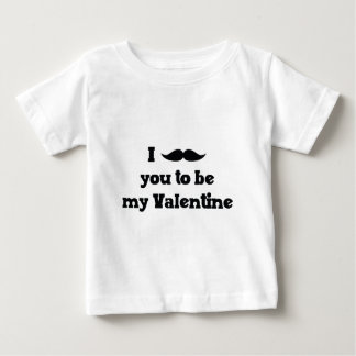 Mustache You to Be My Valentine Tee Shirts