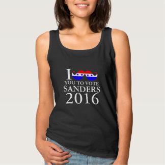 Mustache You to Vote Sanders Tank Top