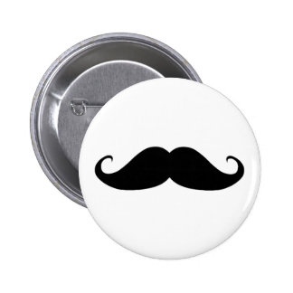 Mustache You Why? Pinback Button