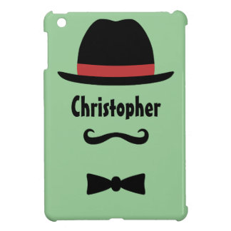 Mustached Man iPad Mini Cover