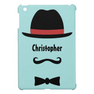 Mustached Man iPad Mini Covers