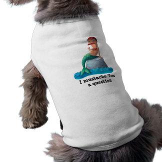 Mustached Merman Pet Tshirt