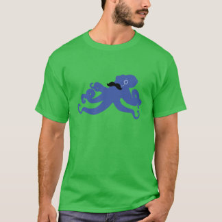 mustached octopus with a monocle T-Shirt