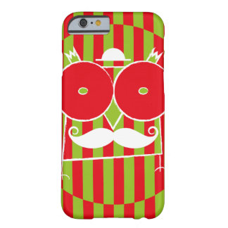 Mustached Owl Barely There iPhone 6 Case