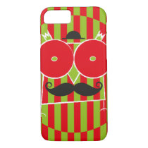 Mustached Owl Barely There iPhone 7 Case