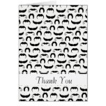 Mustaches Card