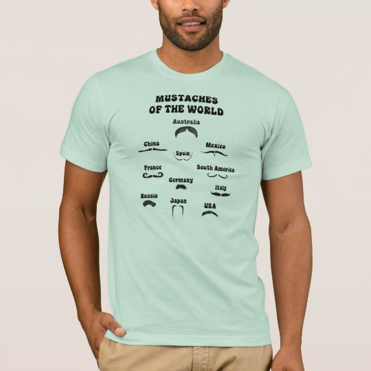 Mustaches of the World T-Shirt