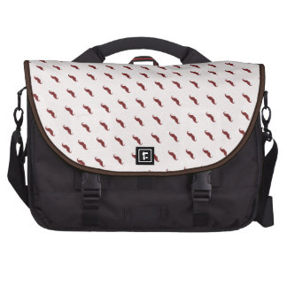 mustaches pattern bags for laptop