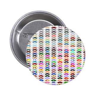 mustaches pattern is funny button