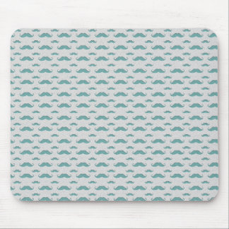 mustaches pattern mouse pad