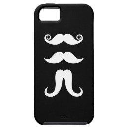 Mustaches Pictogram iPhone 5 Case