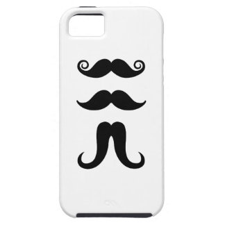 Mustaches Pictogram iPhone 5 Case