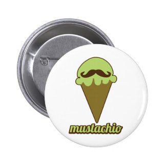 Mustachio Button