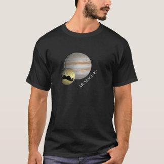 """Mustachio"" Mustache Moon T-Shirt"