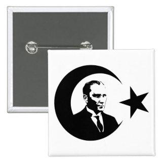 Mustafa Kemal Ataturk Button
