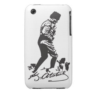 Mustafa Kemal Ataturk iPhone 3 Case