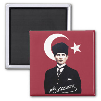 Mustafa Kemal Atatürk Magnet