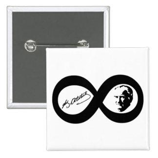 Mustafa Kemal Ataturk Pinback Button