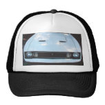 """Mustang 73"""" frontview picture on a hat"""