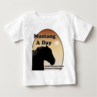 Mustang a Day Personal Challenge Baby T-Shirt