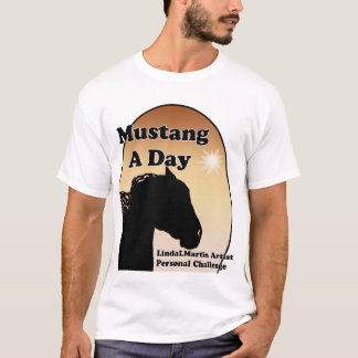 Mustang a Day Personal Challenge T-Shirt