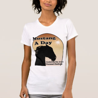 Mustang A Day Personal Painting Challenge Tshirts