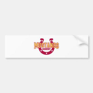 Mustang Academy Bumper Sticker