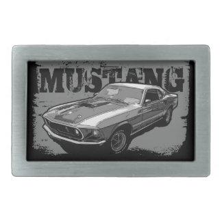 Mustang Belt Buckle