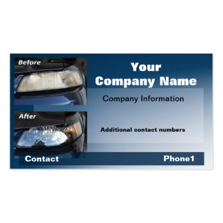 mustang-card #1 Double-Sided standard business cards (Pack of 100)