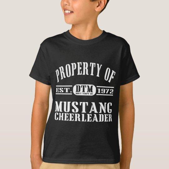 Mustang Cheerleader T-Shirt