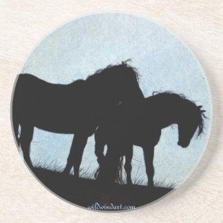 Mustang Coasters