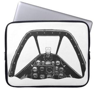Mustang Cockpit Laptop Sleeve