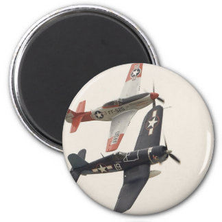 Mustang & Corsair 2 Inch Round Magnet