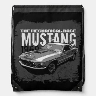 Mustang Drawstring Backpack