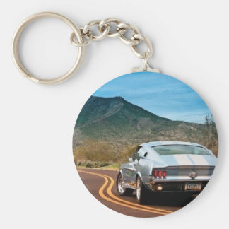 Mustang Fastback Keychains