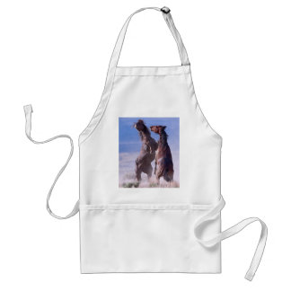 Mustang Fight 2 Adult Apron