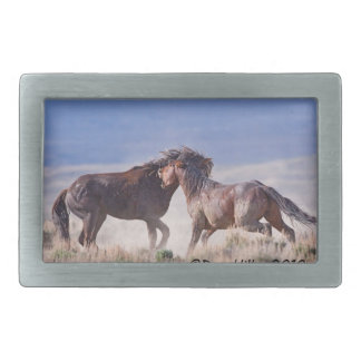 Mustang Fight Belt buckle