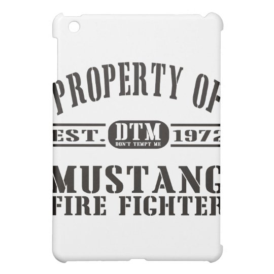 Mustang Fire Fighter Cover For The iPad Mini