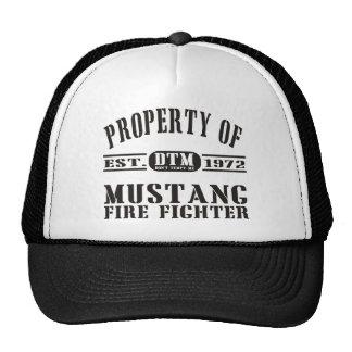 Mustang Fire Fighter Trucker Hat