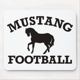 Mustang Football Mouse Pad
