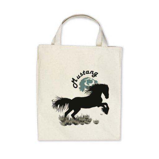 Mustang for horse lover bag